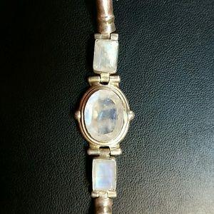 Jewelry - Rainbow Moonstone Sterling Silver Bracelet